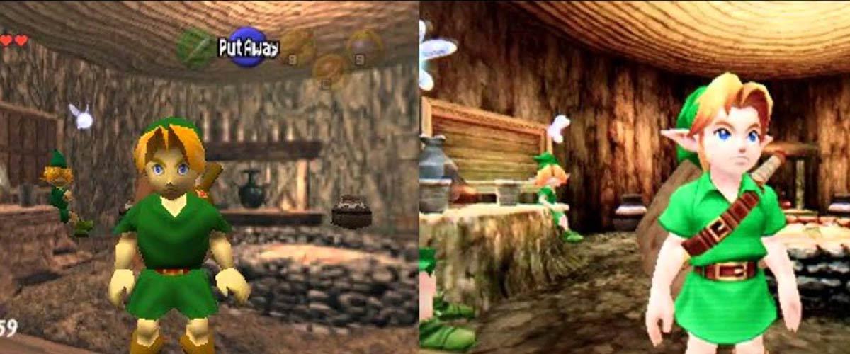 The Legend of Zelda: Ocarina of Time 3D renueva el título clásico