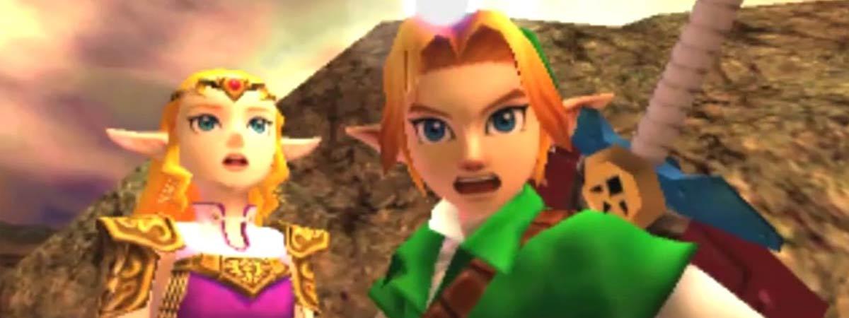 La reconversión 3D de The Legend of Zelda: Ocarina of Time