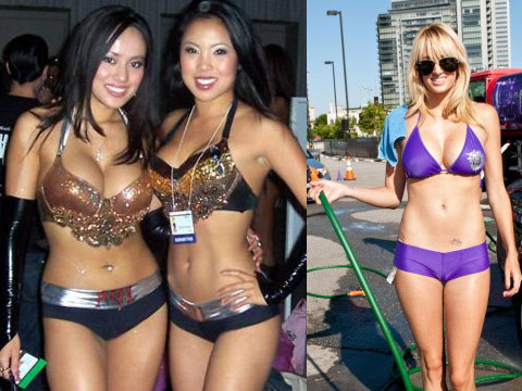 booth babes 2011