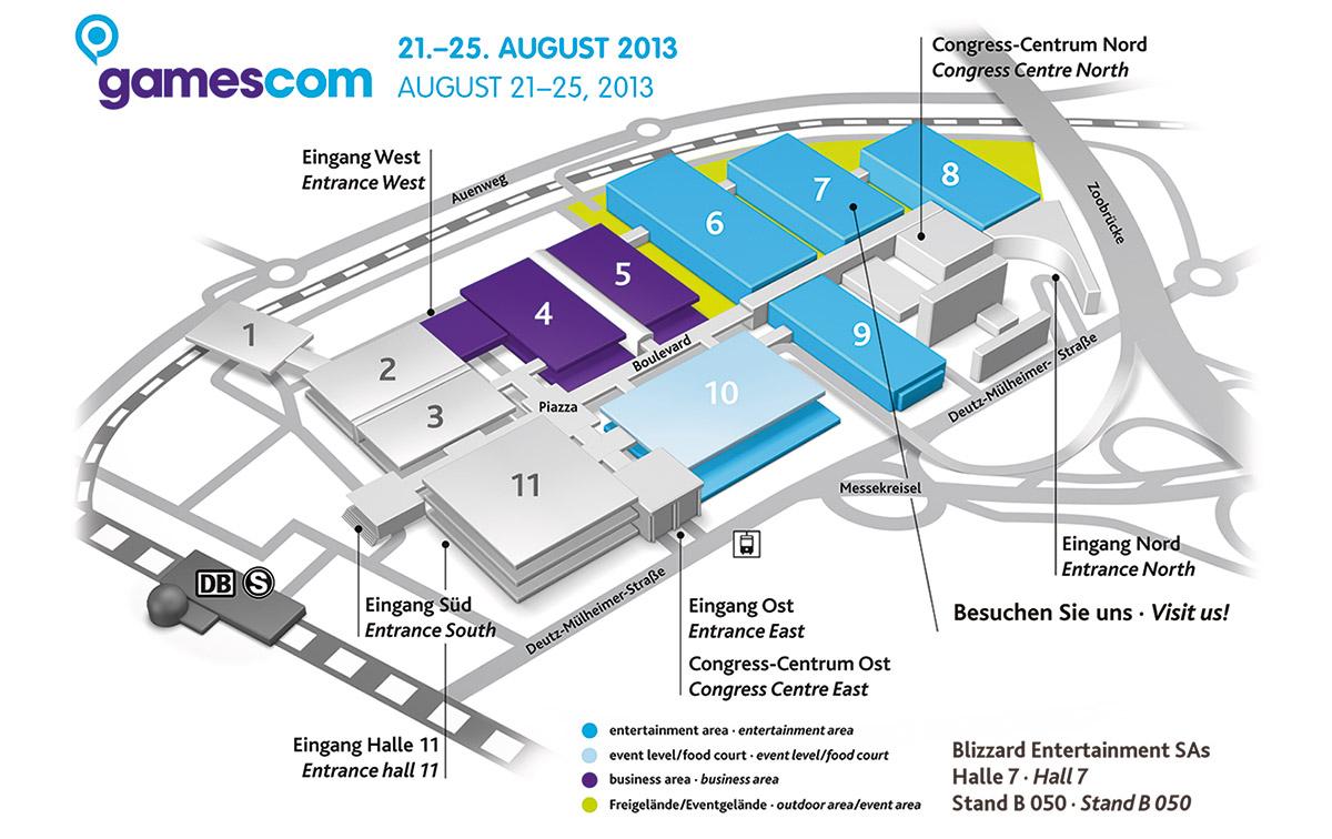gamescom-venue-map