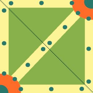 Estructura típica de un mapa MOBA