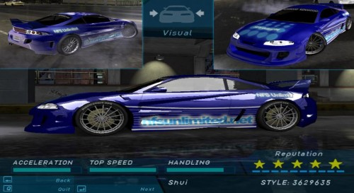 juego need for speed