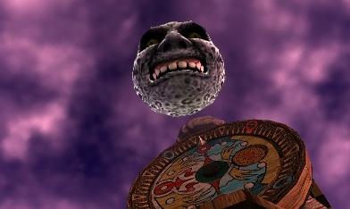 Qué bonita es la luna y qué poca pinta de comerse a tu madre tiene.