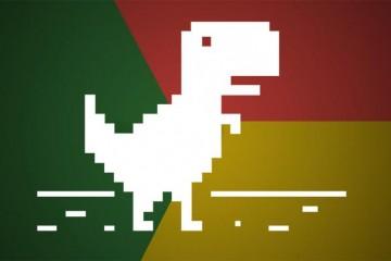 chrome-dinosaurio