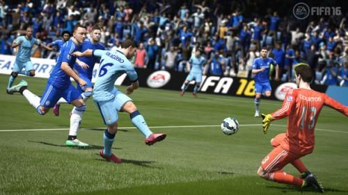 FIFA 16 tiro