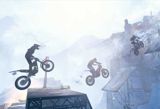 E3 2018 Avance de Trials Rising