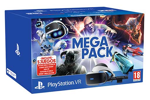 Playstation PSVR Mega Pack packshot