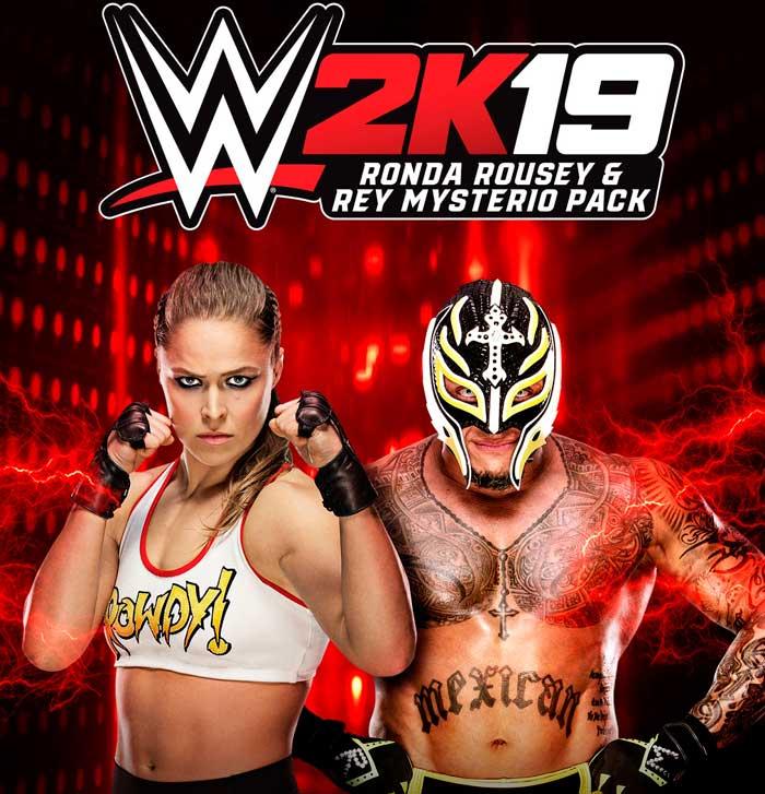 Ronda Rousey, Rey Mysterio y Ric Flair ya está disponible en WWE 2K19