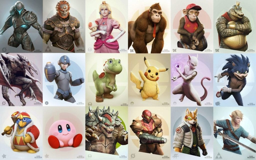 Personajes Super Smash Bros