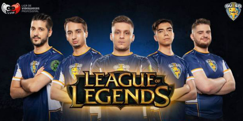 Componentes Team Queso League of Legends