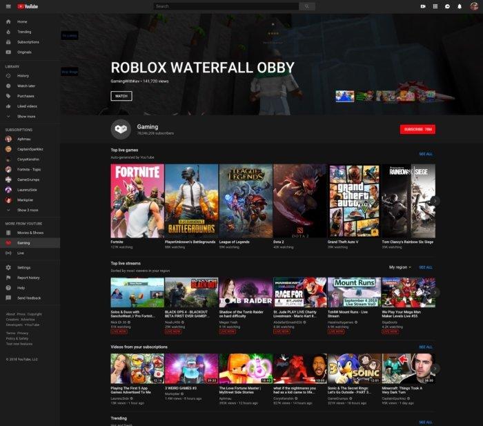 YouTube Gaming echa el cierre