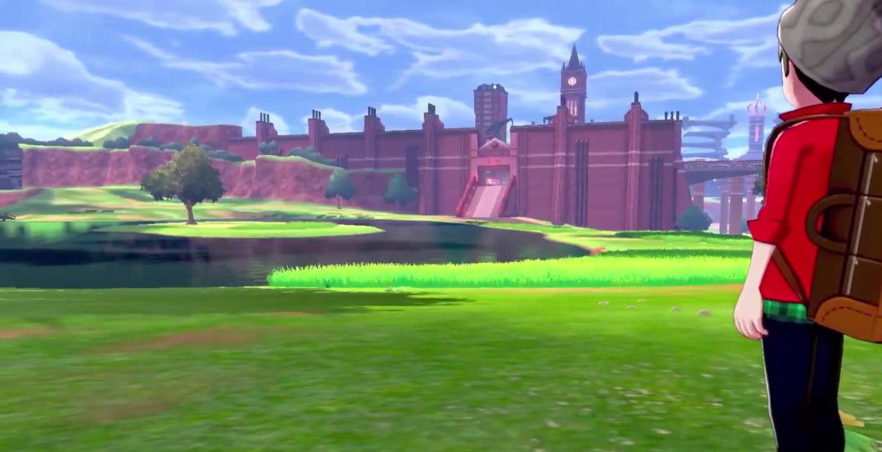 Cinematica Pokemon espada y escudo