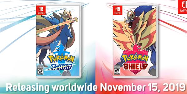 Fecha lanzamiento Pokémon espada y escudo