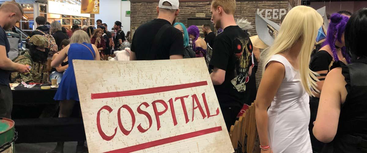 El Cospital ayuda a los cosplayers a ultimar sus destalles
