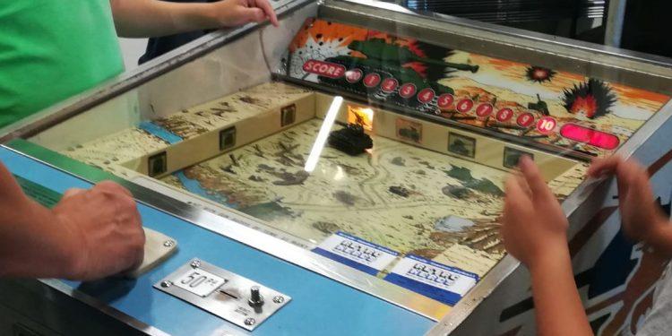 La zona retro de videojuegos con interesantes máquinas