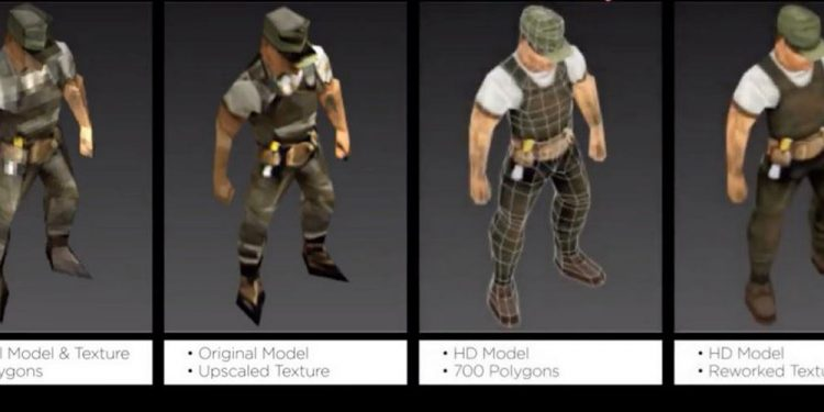 Evolución de gráficos de Commandos 2