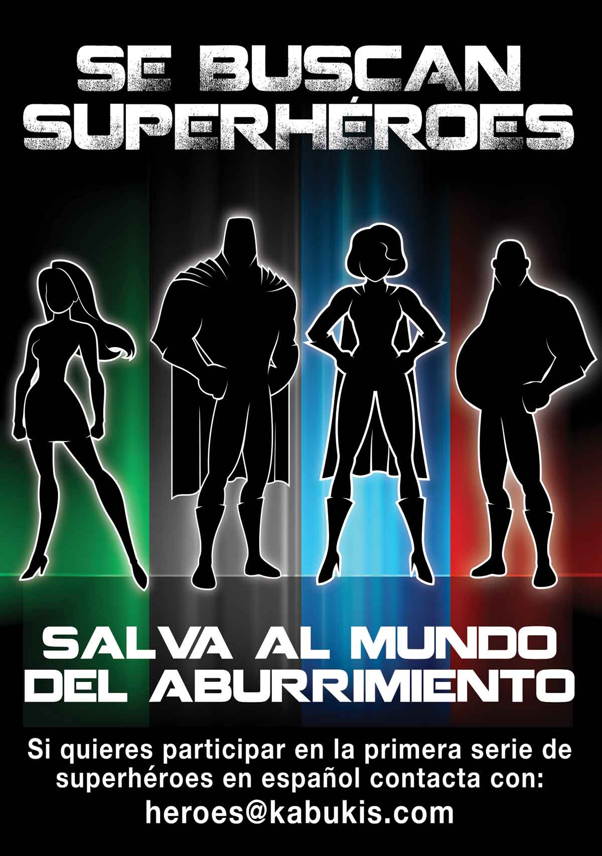 Casting para la primera serie de superhéroes en español