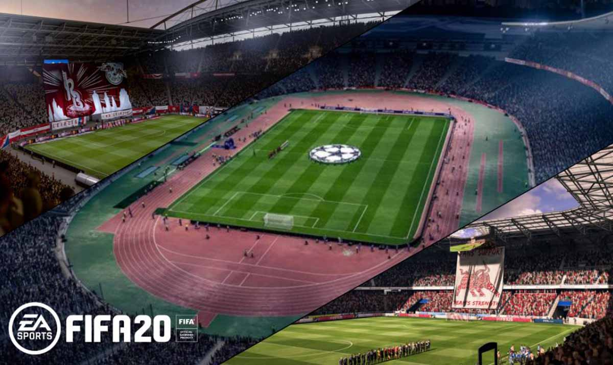 FIFA 20 revela todos los estadios del juego: hay 17 nuevos confirmados