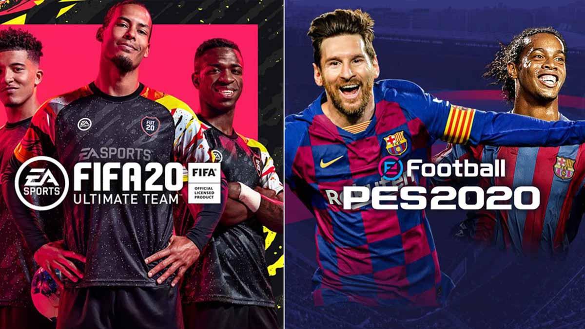 La gran disputa: FIFA 20 vs PES 2020
