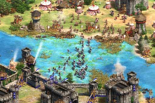 Age of Empires 4 mostró su primer gameplay en el X019