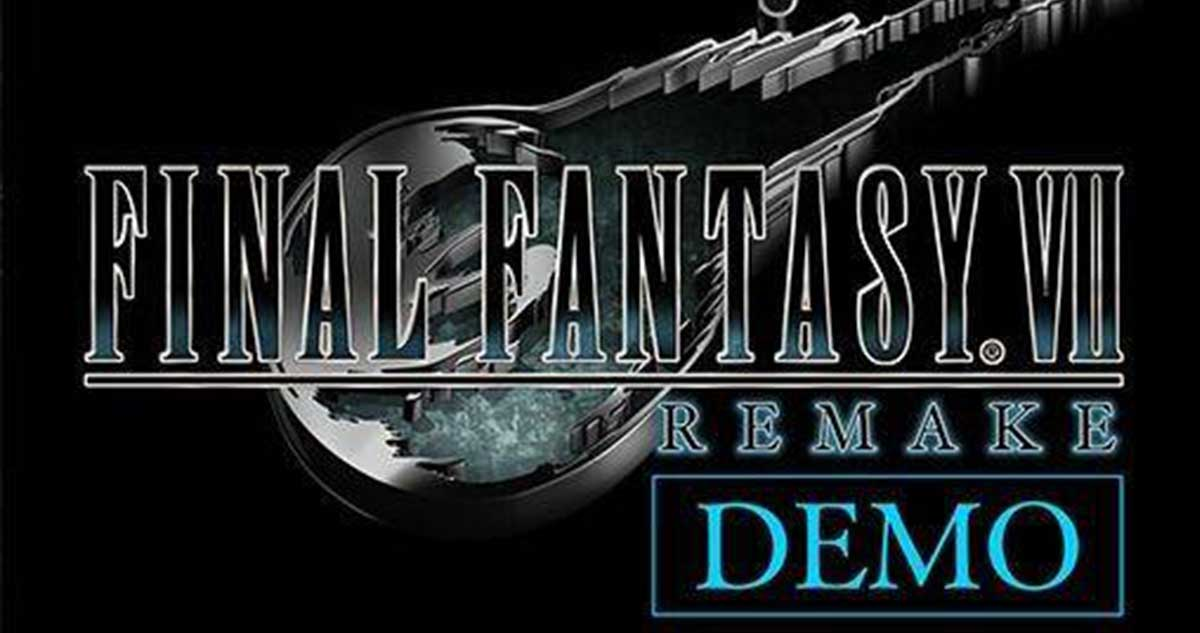 Final Fantasy 7 Remake: Se filtró la existencia de una demo en PS Store
