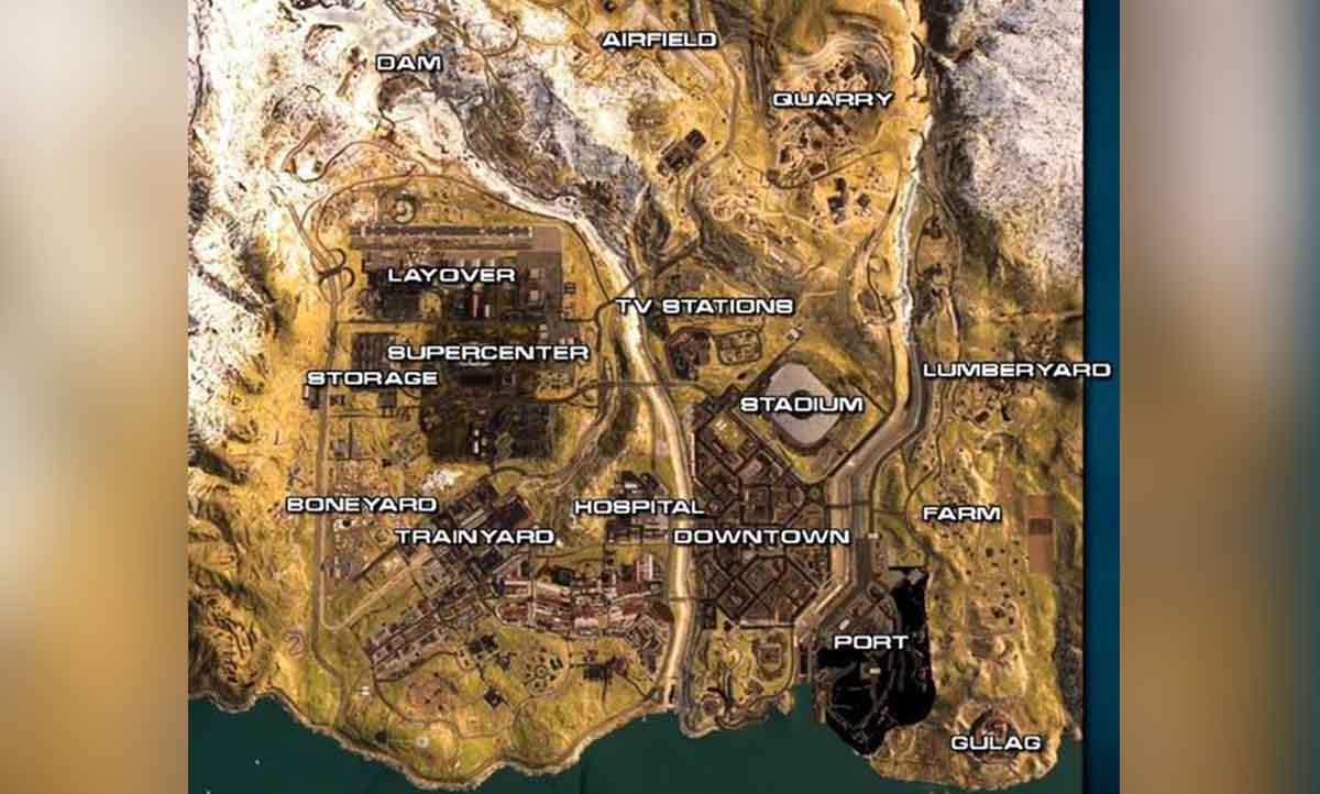 Call of Duty: Modern Warfare. El mapa Battle Royale apareció en un nuevo vídeo