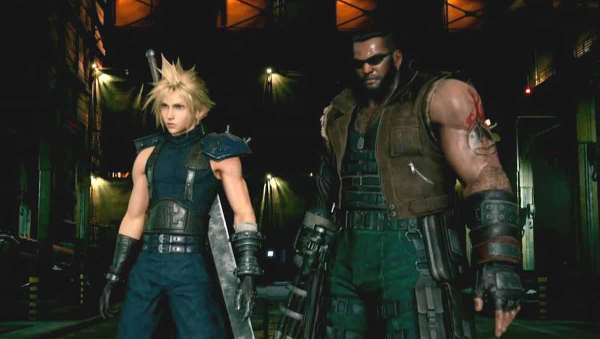 Final Fantasy VII Remake iba a tener el estilo de combate de Kingdom Hearts