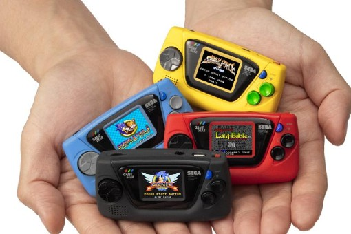 SEGA anunció Game Gear Micro, una consola super mini
