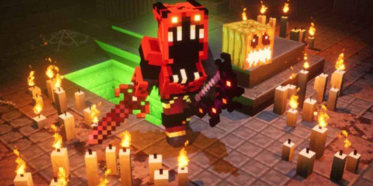 Minecraft Dungeons presenta Spooky Fall, un nuevo evento de Halloween