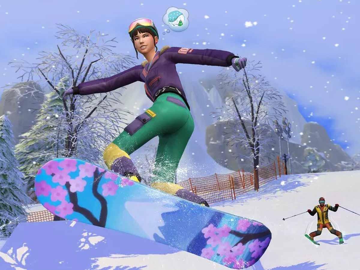 Sims 4 anuncia una nueva expansión bastante invernal
