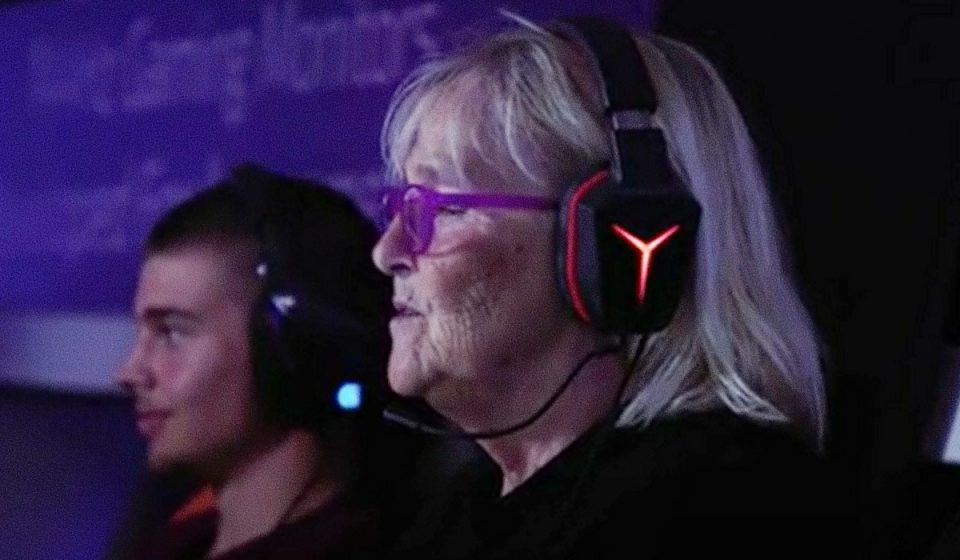 Inger, la gamer de 66 años fan del Counter-Strike