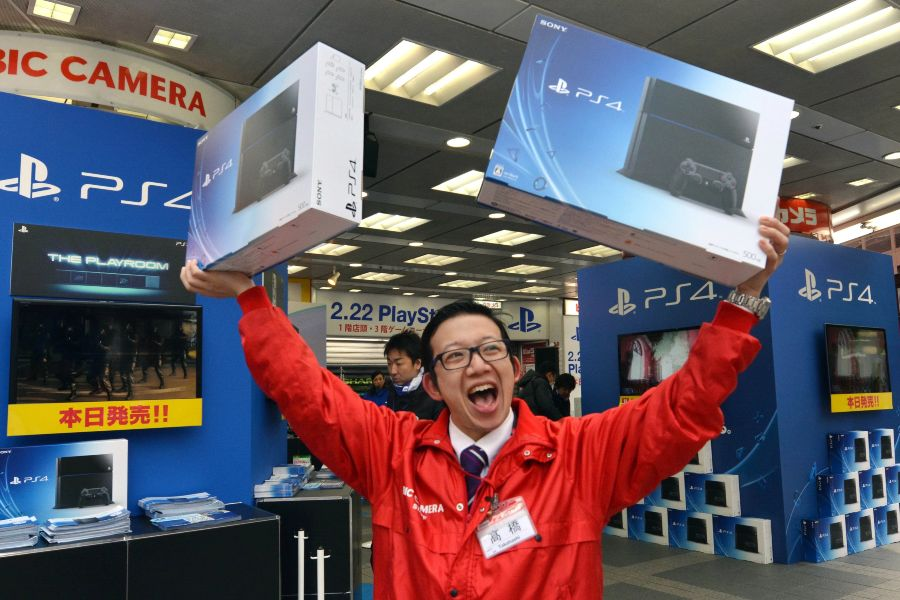 Sony descontinua en Japón la gran mayoría de modelos de PS4