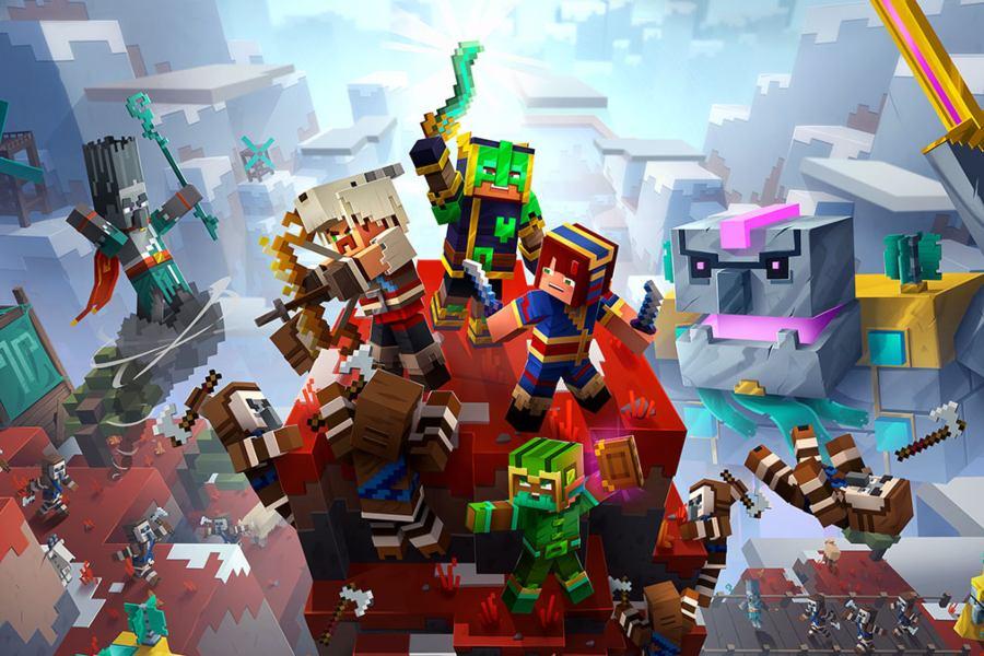 Minecraft Dungeons lanza una nueva DLC y contenido gratuito