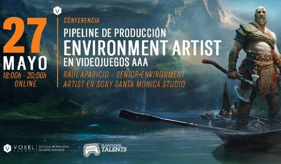 Este jueves no te pierdas la charla online de Raúl Aparicio (Sony Santa Monica)